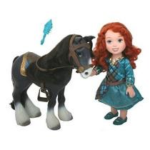 Mi Primera Princesa De Disney Brave Mérida Con Angus Playset