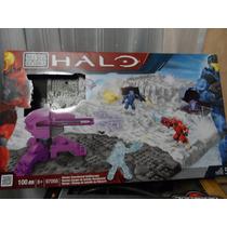 Mega Bloks Halo Campo De Batalla Snowbound 100 Pzs
