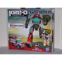 Hasbro Kre-o Transformers Ratchet 187 Piezas Mdn