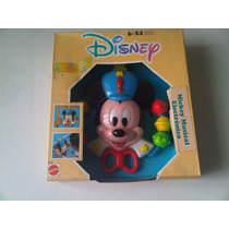 Mickey Mouse Musical Mattel Aurimat 1990 Nuevo!!!!
