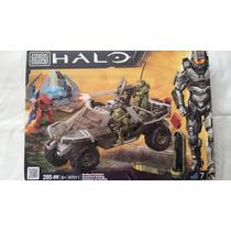 Mega Bloks Halo Warthog Resistance Nuevo