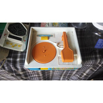 Juguete Juego Toca Discos Fisher Price Antiguo Coleccion