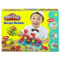 Play-doh Hamburguesa Constructor