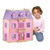 Melissa & Doug Multinivel Dollhouse De Madera