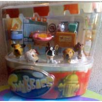 Snnubie Set 1 De Perritos Miniatura Cabezones