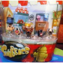 Snubbies Set 3 De Perritos Miniatura Cabezones
