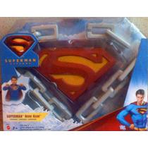 Superman Accesorios Para Traje Capa Escudo Y Cadena
