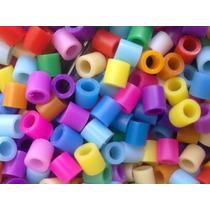 Perler Beads 100 Cuentas Un Solo Color Minimo 80 De Compra