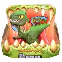 Saurix Dinosaurio Interactivo Mattel Dino Tek Nuevo Original