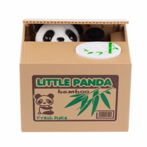 Alcancia Roba Monedas Gatito Perro Panda Gato