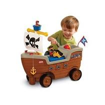 Little Tikes 2-en-1 Barco Pirata