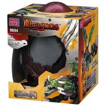 Juguete Mega Bloks Dragones Metálicos Negro