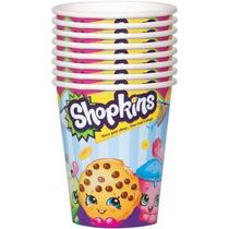 Shopkins Vasos Fiesta Decoracion Nina Regalo Infantil Cookie