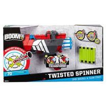 Pistola De Dardos Twister Spinner Boom.co. Mattel. Nueva