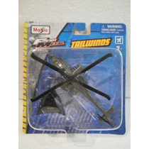 Maisto Fresh Metal Tailwinds Helicoptero Ah-64 Apache Verde