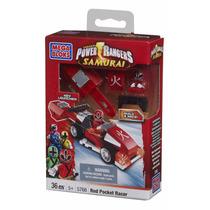 Mega Bloks Power Rangers Red Pocket Racer Modelo 5766