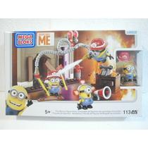 Mega Bloks Mi Villano Favorito Set Minions Bomberos 113 Pzs