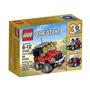 Lego Creator 3 En 1 Todoterreno / Buggy /4x4 Blakhelmet E