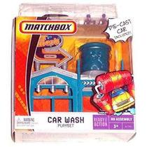 Juguetes Lavadero Coches Matchbox Azul