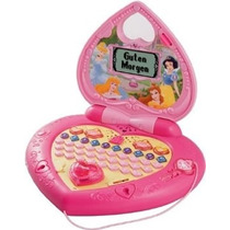 Vtech Ordenador Princesas Mágicas Laptop Disney