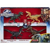 Jh Jurassic Park-jurassic World 2015 Toy Set Velociraptor