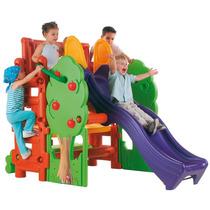 Juego Resbaladilla Escalador Parque Niños Casa Arbol Pm0
