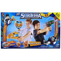 Set De Pistolas Y Accesorios Slugterra Bajoterra 15 Pzs