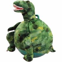 Pelota Brinca Brinca Saltarina Montable De Dinosaurio T-rex