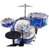 Juguete Bateria Para Niños Big-band Azul