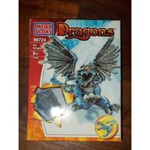 Juguetes Mega Bloks Dragones Gris