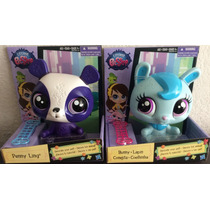 Littlest Pet Shop Penny Ling Y Bunny Conejita De Hasbro
