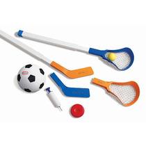 Little Tikes Fácil Score Fútbol Hockey Y Lacrosse Set
