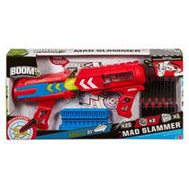 Boomco Mad Slamer Mattel 20 Dardos 22m Dist Pistola Lanzador