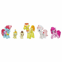 Set My Little Pony Cake Family Babysitting Fun Mini