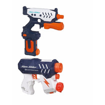 Nerf Super Soaker Shotwave Blaster And Electrostorm Set