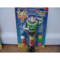 Chiclera Dispensador Gum Ball Buzz Lightyear Toy Story2