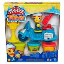 Moto De Policia Play-doh