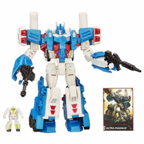 Muñeco Transformers Generations Leader Class Ultra Magnus