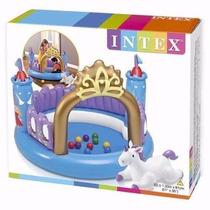 Intex Inflable Alberca Centro De Juegos Niños Tipo Castillo