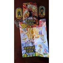 Dragon Ball Tag Metalicos Coleccionables 100% Originales
