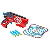 Pistola Boomco Farshot Mattel 3 Dardos 22m Escudo Removible