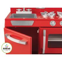 Cocinita Cocina Kid Craft Pariilla Fregador Juego Niños Fn4