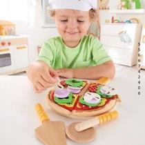 Hape Set De Comida Juguete De Madera Pizza