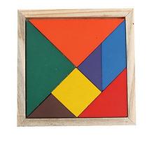 Tangram Didactico De Madera 20 Piezas
