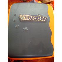 V. Reader Vtech Con 4 Juegos Y Mochila
