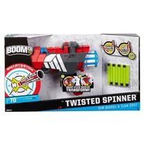 Boomco Twister Spinner Mattel 8 Dardos 22m Escudo Pistola