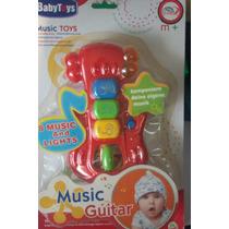 Guitarra Musical Para Baby + De 12 Meses