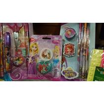 Lote De Articulos De Princesas Nuevos !!