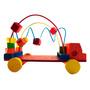 Laberinto En Forma De Carro- Juguete Didáctico Para Niños