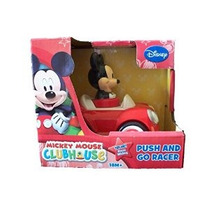 Disney Mickey Mouse Push And Go Car Racer
